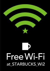Starbucks offers free wifi in Japan